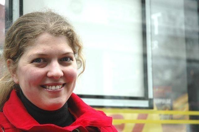 : Christin Krohn (H) er svært opptatt av skole. Hun mener nivået i Oslo-skolen er bra. Men hun vil at den skal bli enda bedre. FOTO: ALEXANDER SYNSTAD