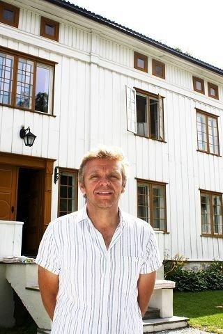 Asgeir Føyen driver Abildsø gård og mener Bydel Østensjø tenker alt for kortsiktig når de dropper arbeidstreningsplassene der. Foto: Trine Dahl-Johansen