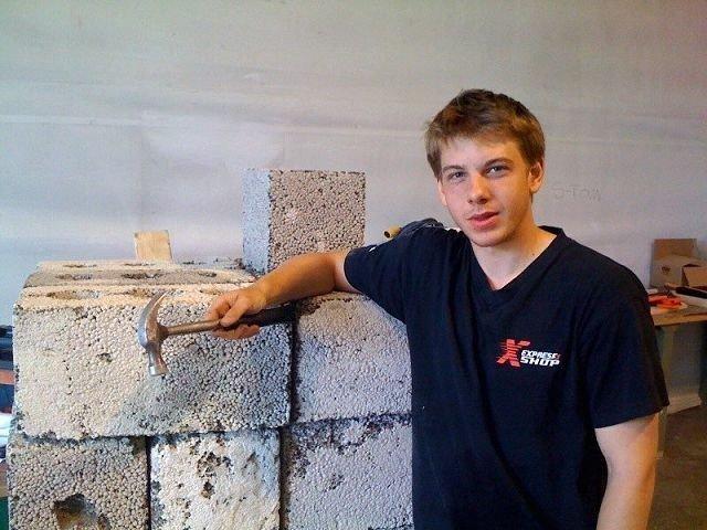 Filip Drogseth (17), elev ved Stovner vgs, har blitt valgt ut som en av 20 deltakere til Italia-tur i august. FOTO: MAGNUS HENRIK SANDBERG