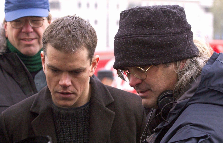 Paul Greengrass og Matt Damon – her fra «Bourne»-settet – er gamle kjente.
