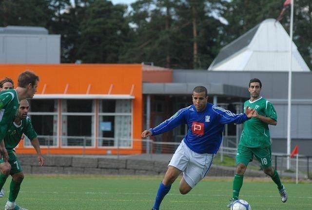 Karim Aouida mente Kjelsås burde vunnet over Manglerud Star. Foto: Andreas Lindbæk