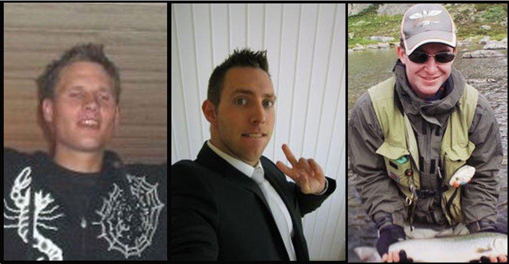 F.v. Magnar Haarr (24), Jonas Reiestad (31) og Tormod Aniksdal (24).