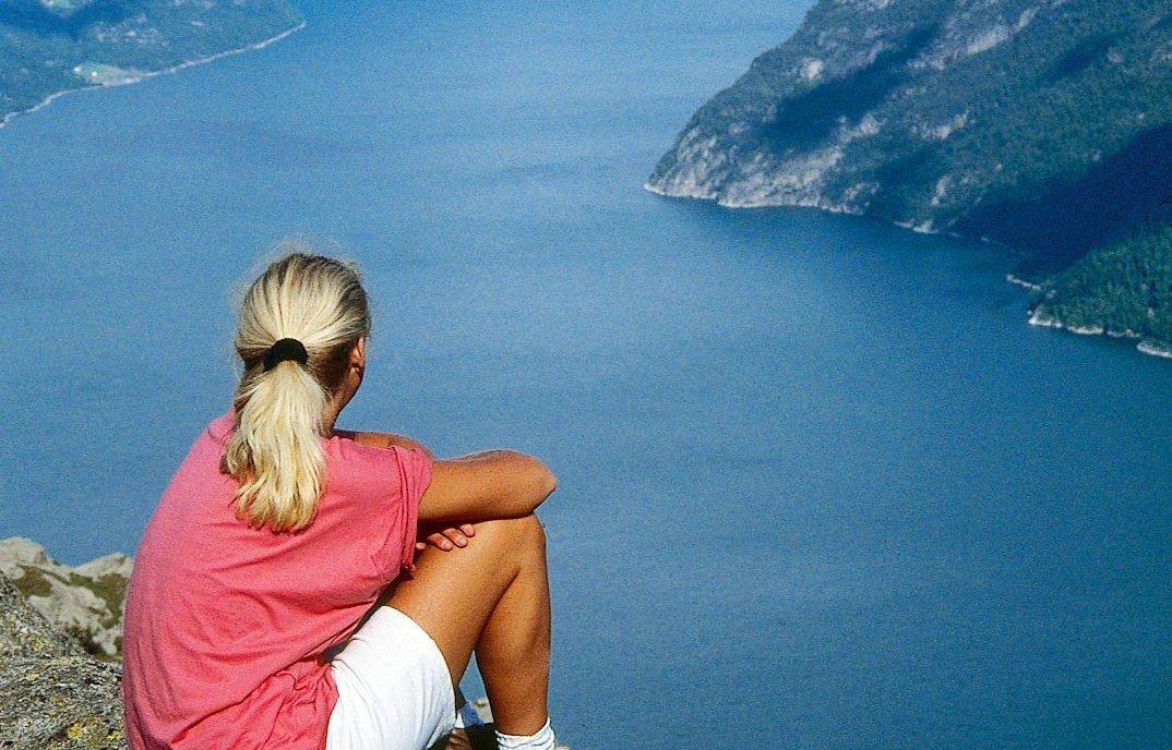 Turen til Prekestolen er den mest populære merkede fjellruta i Norge.