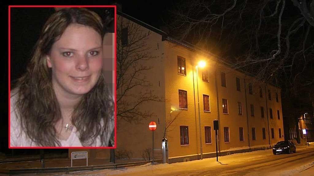 Linn Sandtrøen (29) og åstedet for drapet.