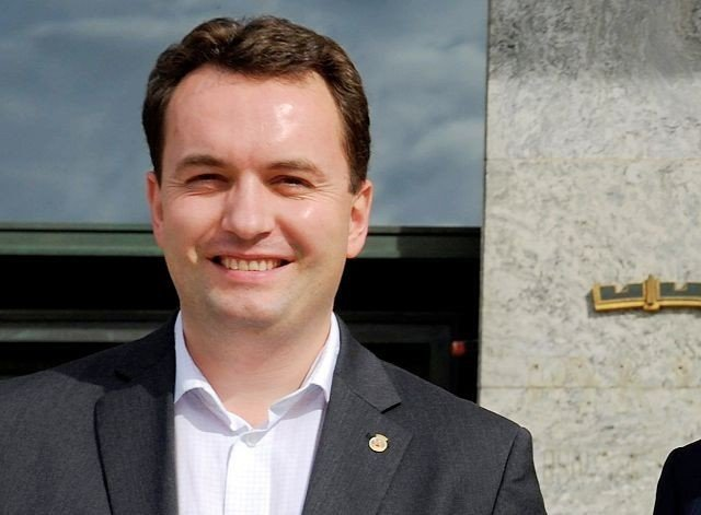 Byrådsleder Stian Berger Røsland (H).
