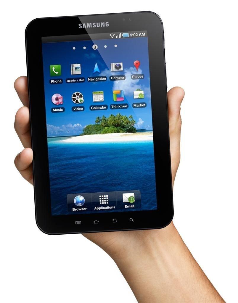 Galaxy Tab er et syv tommer stort surfebrettet med operativsystemet Android 2.2.