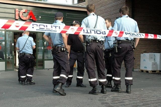 Politiet måtte rykke ut til Heimdalsgata natt til torsdag.