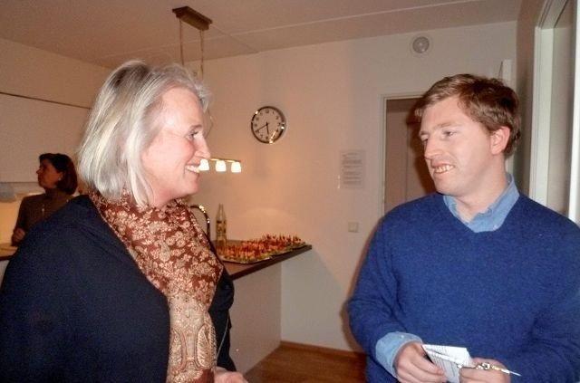 Lisen J. Mohr og sønnen Markus som endelig har fått sin egen leilighet på Ullevål.