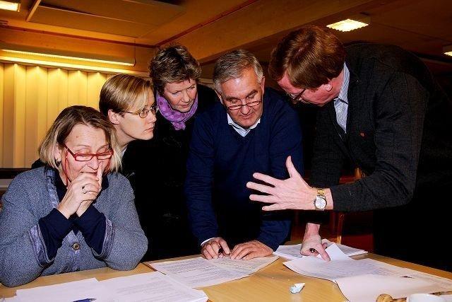Bydel Alnas politikere vedtar torsdag 16. desemberbydelsbudsjettet for neste år. Her fra fjorårets budsjettdiskusjoner. FOTO: ANITA HANKEN