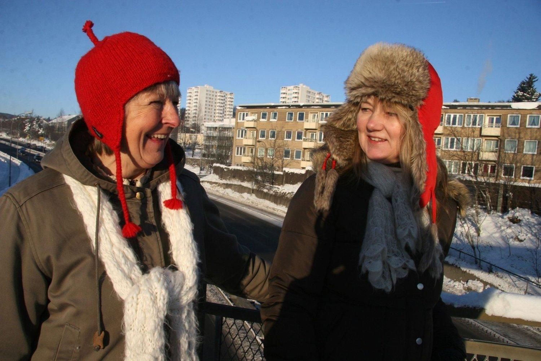 Asbjørg Hammer (til venstre) i Heilo vel håper på fortgang i kampen for undergang. Her sammen med Solveig Evang.