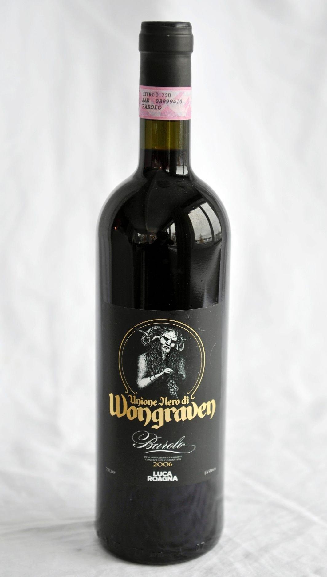 Sigurd Wongraven, kjent fra black metal-bandet Satyricon, er en vinkjenner og vi velger hans Barolo til Tom Victors gås.
