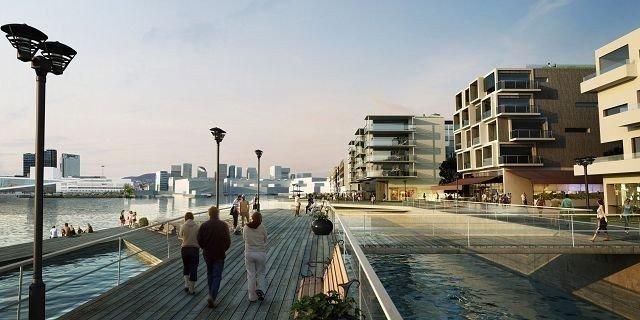 Flotte leiligheter er planlagt i Bjørvika, i alt 5000.