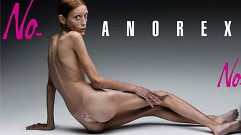 Anti-anoreksi kampanje som ble frontet av avdøde Isabell Caro.
