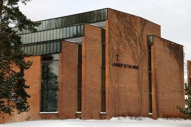 Lambertseter kirke.