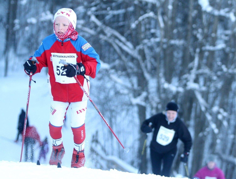 ee7521c4 Det er mange barn og unge som ønsker å tråkke til i sporet for Lyn Ski