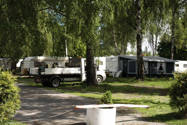 Det er funnet en død person i en campingvogn på Bostad camping. Bildet har ikke noe med funnet å gjøre.