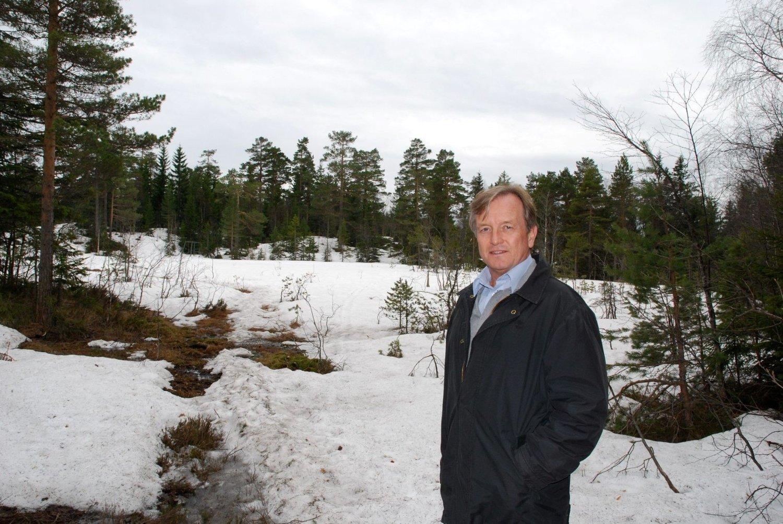 Per-Trygve Hoff (H) kjenner dette området godt og vil at byrådet og bystyret skal bevare Fuglemyra og turområdet for fremtiden. Foto: Vidar Bakken
