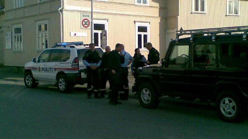 Politiet rykket ut etter masseslagsmålet i Porsgrunn