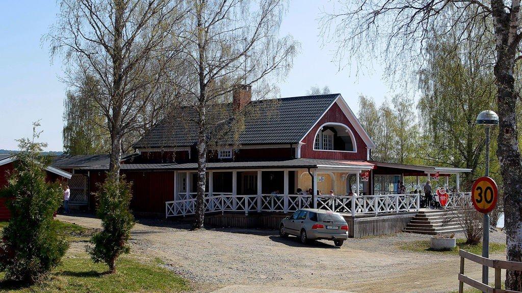 CAMPING: Det var ved Haganeset Camping i Charlottenberg at den 11 år gamle gutten ble forsøkt hengt.