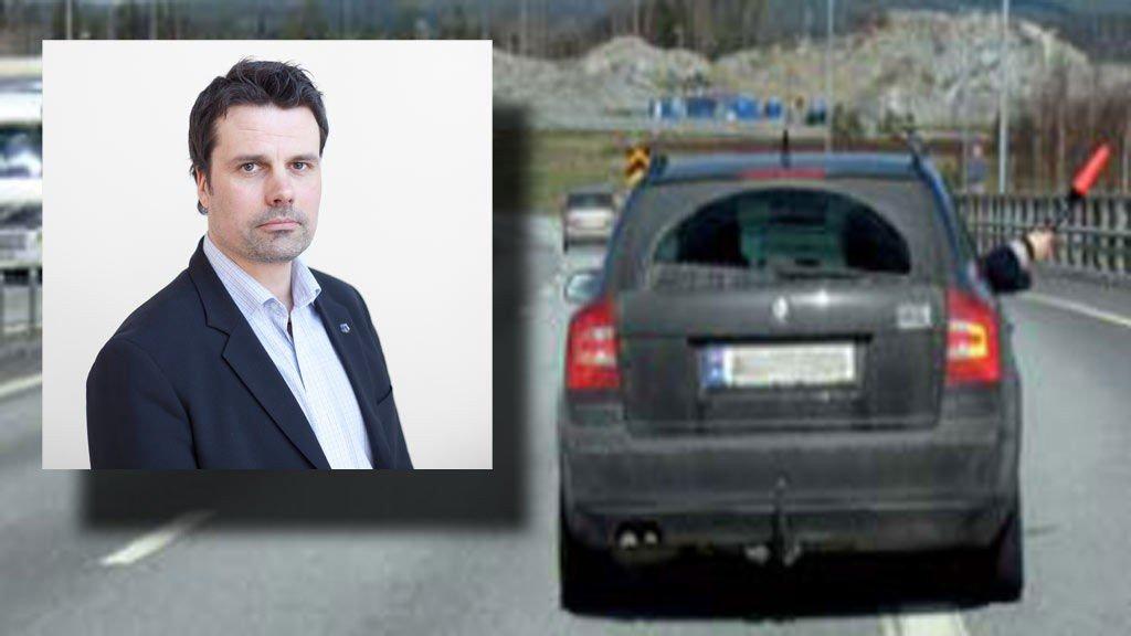 Leder Fredrik Støtvig i Norsk Tollerforbund