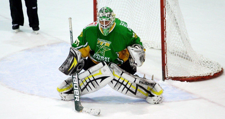 Steffen Søberg ble i går draftet av WHL-laget Swift Current Broncos. I august flytter 17-åringen til Canada.