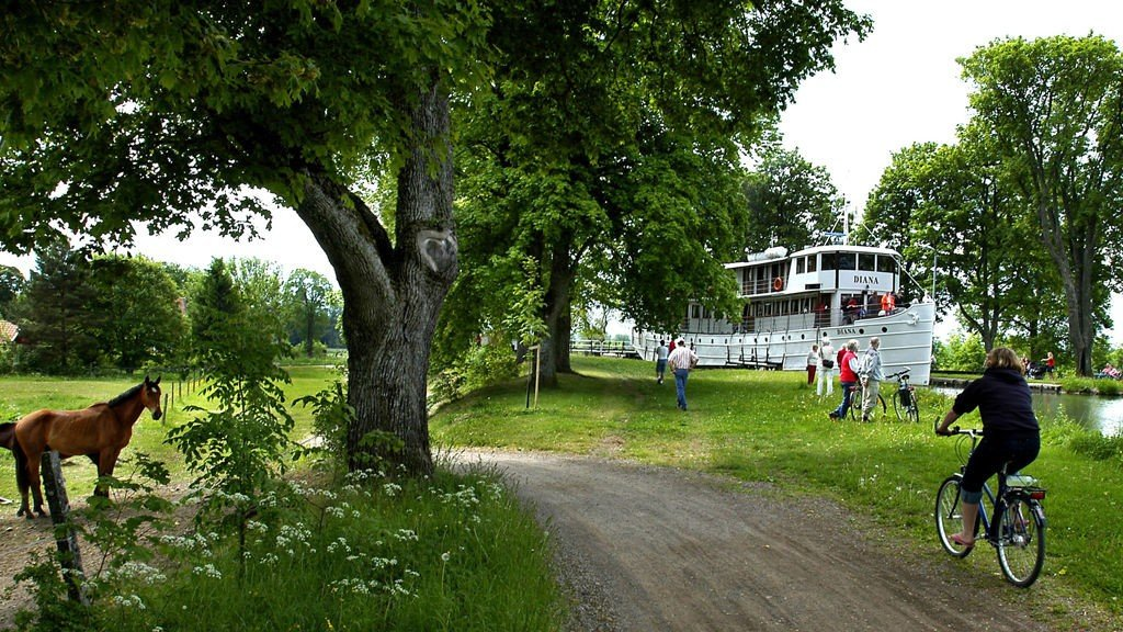 Svensk idyll venter deg om du vinner et kanalcruise på Gøta kanal.