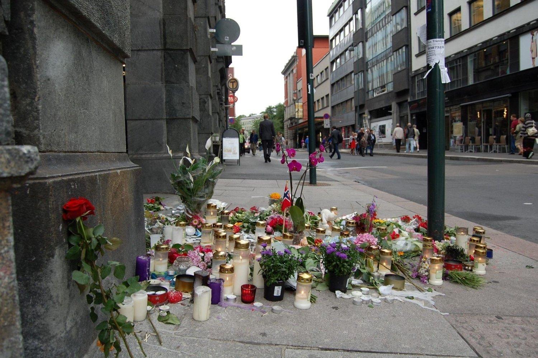 Stort behov: Det er et stort behov for byens sørgende å få snakke om og utrykke sine følelser etter angrepene som byen har opplevd.