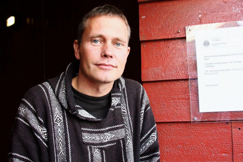 04e9ff5b Leder av Foreningen for human narkotikapolitikk, Arild Knutsen, forteller  at røykepapiret er av aluminiumsfolie