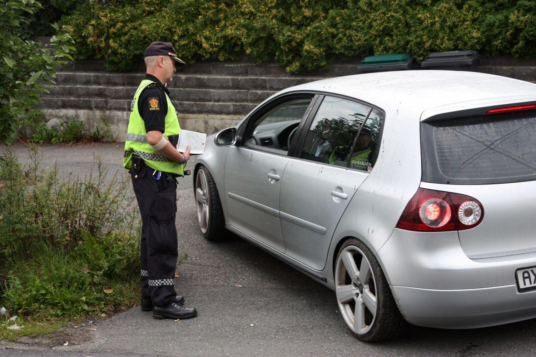 Politiet har gjennomført flere fartskontroller i Toppåsveien i Prinsdal med innbringende resultat. Onsdag morgen kjørte ingen for fort.