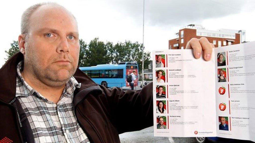 ANBEFALER IKKE EGET PARTI: I et leserinnlegg anbefaler Ole Bernt Wang velgerne å stemme noe annet enn Frp.