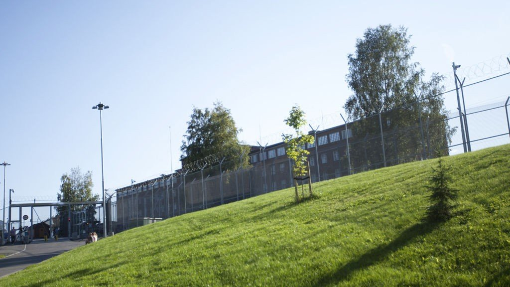 Ila fengsel, Knut Bjarkeid   Flyforbud over Ila fengsel