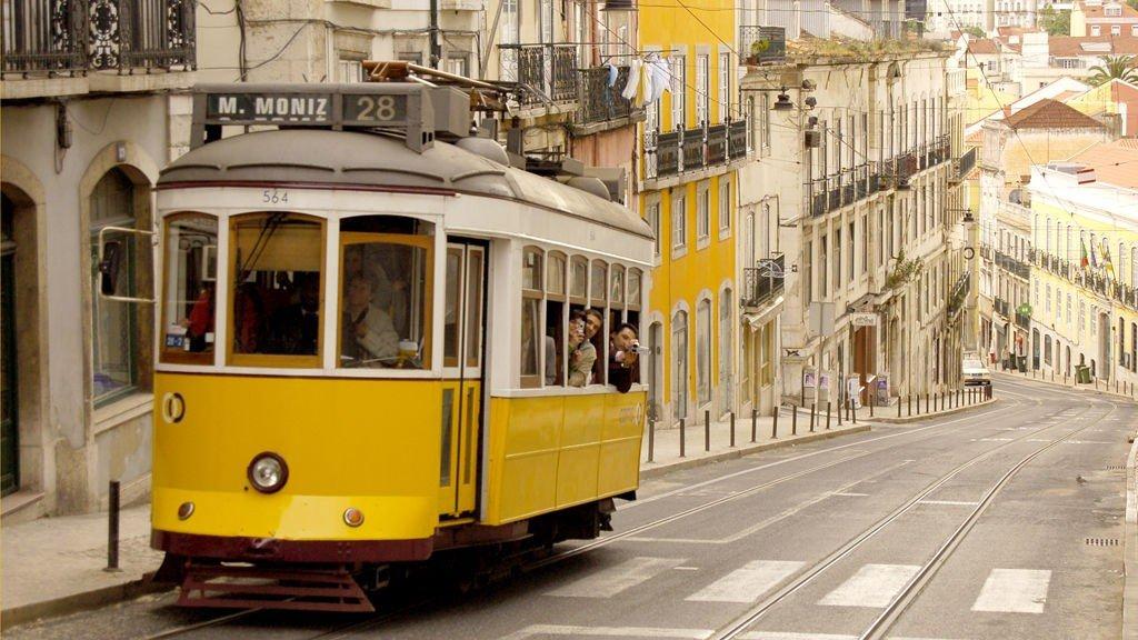 Alfama er Lisboas vakre gamleby.