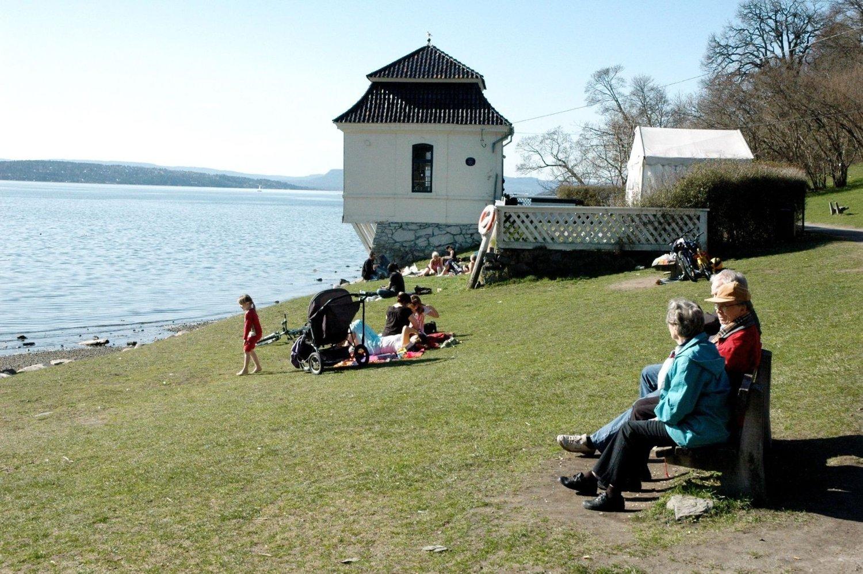 IDYLL: Det er kort vei til både sjø og turområder, som her i Hvervenbukta, i Søndre Nordstrand. Likevel er det den rimeligste bydelen i Oslo for boliginvestering.