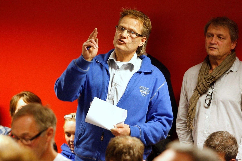 STERKE MENINGER: Terje Bredesen, som har vært i klubben siden juni i fjor, kritiserte Oppsal-ledelsen.