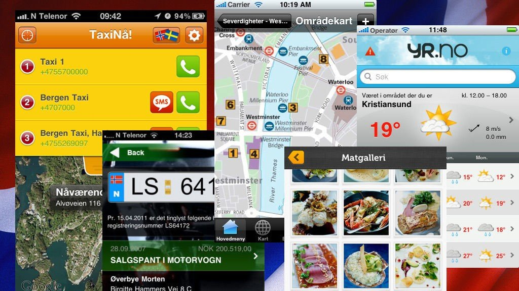99c74309 iPhone , App | 10 norske apper du må ha til iPhone