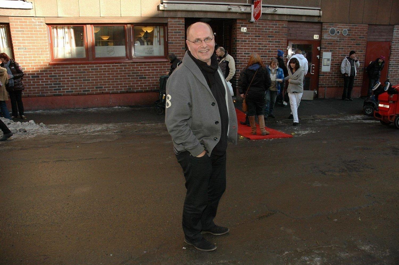 I NY ROLLE: Han har vært programleder før. Denne gangen er TV-pastor Egil Svartdahl foran kameraet.
