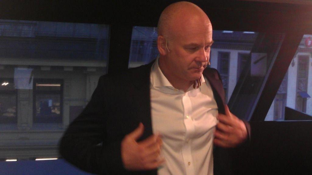 Thor Gjermund Eriksen, konsernsjef i A-pressen gjør at for at oppkjøpet skal bli godkjent.