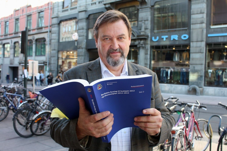 NØDVENDIG: BU-leder Arve Edvardsen mener de foreslåtte kuttene er nødvendig og er noe bydelen skal håndtere godt.