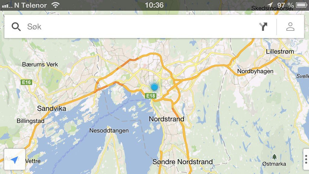 Iphone Google Maps Endelig Kan Du Stole Pa Iphones Kart Igjen