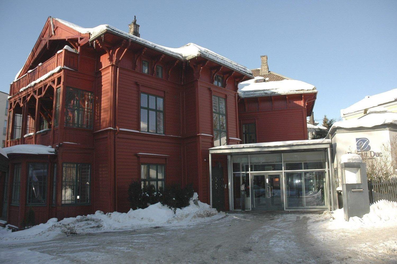 SKOLE: Den ærverdige villaen i Lyder Sagens gate, som rommer Barratt Dues musikkinstitutt. Her skal det fra høsten 2013 opprettet et samarbeid med Akademiet videregående.