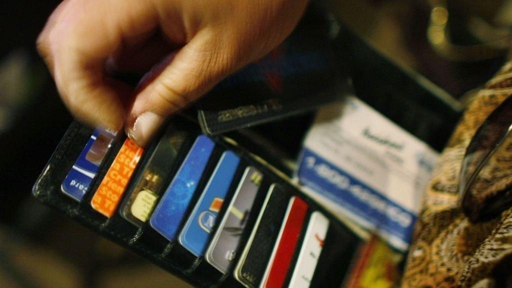 Forbruk spending wallet pengebok kredittkort