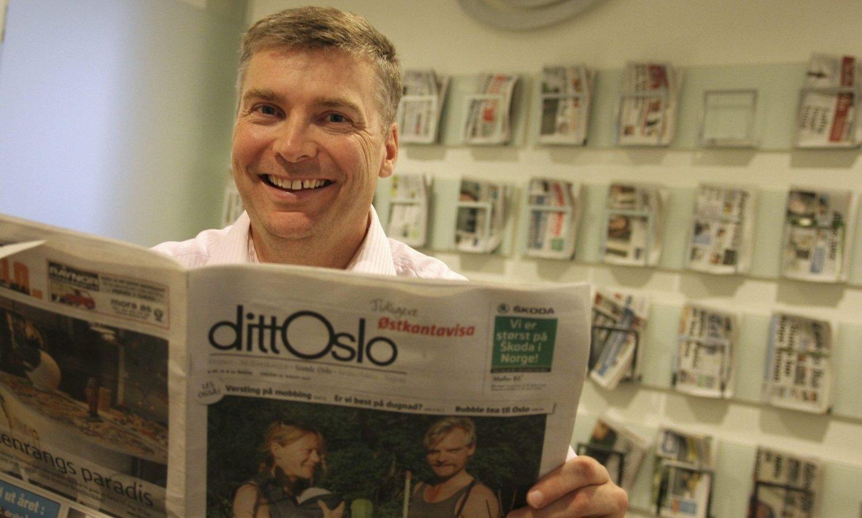 UTVIDET ROLLE: 1. februar overtok Tore Bollingmo som enleder for Mediehuset dittOslo. Foto: Vemund Sveen Finstad