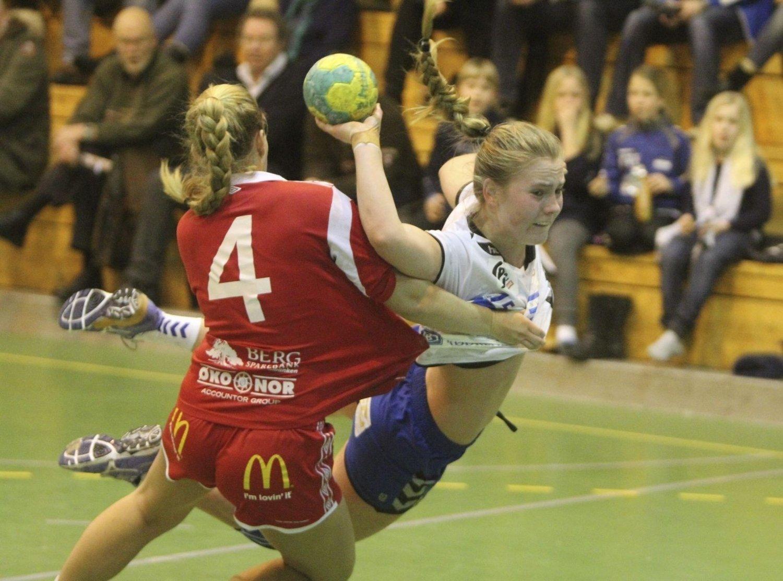 BEST: Vilde Ingstad ble kåret til NIFs beste spiller etter sine syv fulltreffere mot Halden.