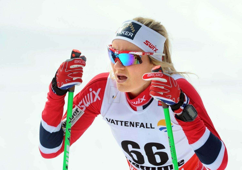 Det ble en tøff mesterskapsdebut for Martine Ek Hagen.