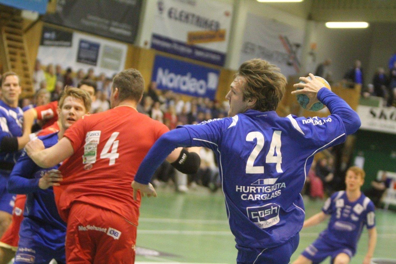 I SAMME KLUBB ?: BSK/NIFs Christian O´Sullivan og Follo HKs Kyrre Vegard Johannesen (venstre) kan bli lagkamerater hvis det blir noe av sammenslåingen mellom BSK/NIF og Follo HK.