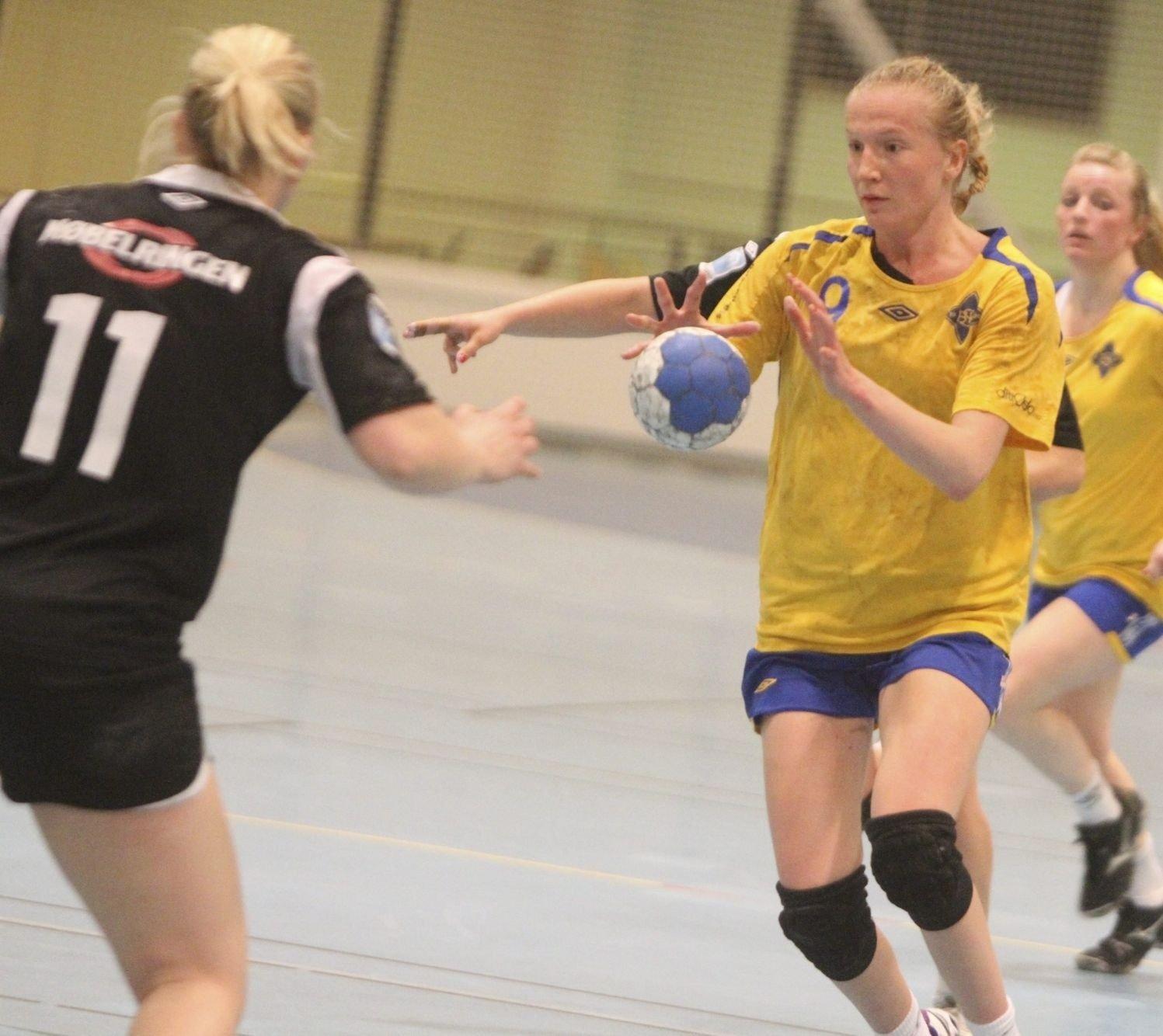 ETTERTRAKTET: Henriette Svenningsen har fått tilbud fra både Nordstrand og Oppsal for neste sesong. Foto: Arild Jacobsen