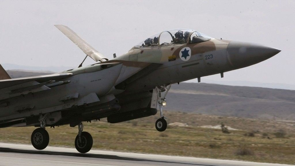 Israel F15 Jagerfly