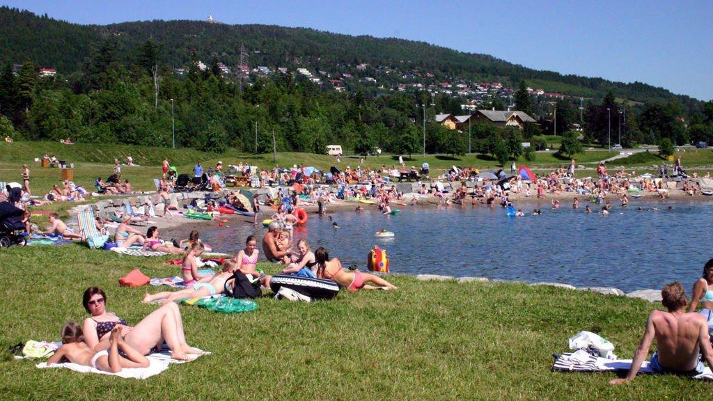 VARMEST: Nord-Vestlandet får det beste været denne uken. Dette bildet er tatt på friluftsområdet Retiro i Molde, en fin sommerdag for noen år siden.