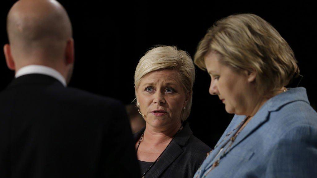 STJELER VELGERNE. En ny partimåling utført for VG viser at velgerovergangen fra Høyre til Frp har økt jevnt den siste uka, og er nå den høyeste så langt i valgkampen.
