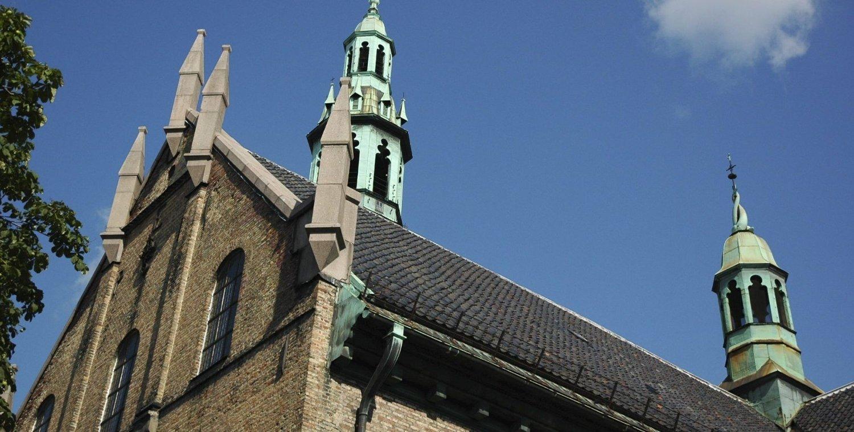 BLE PLYNDRET: En mann skal ha stjålet en kollektbøsse fra Oslo Domkirke. Mannen må svare i retten førstkommende mandag. Arkivfoto